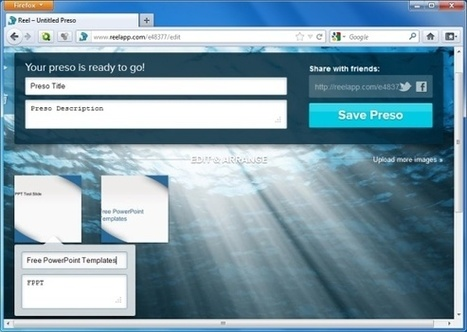 Share PowerPoint Presentations Online With Reel Web App | PowerPoint Presentation | ESL ideas for my classes | Scoop.it