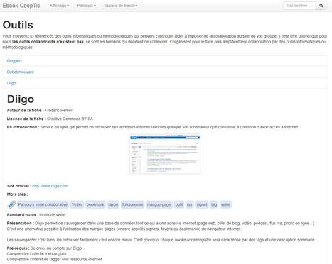 23 outils collaboratifs avec présentation et exemples d'utilisation | Pour Le Numerique | Scoop.it