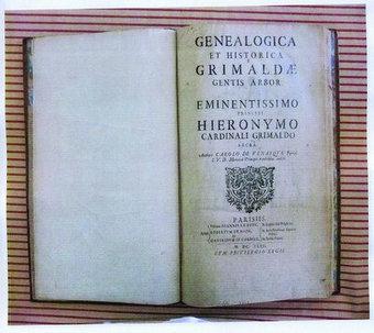 Cagnes achète un ouvrage trés rare sur la généalogie des Grimaldi | Rhit Genealogie | Scoop.it