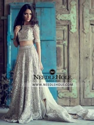 Shop designer bridal lehenga choli suit comes w...