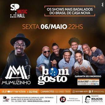 SP Music Hall - Sexta - Super Show com Mumuzinho e Grupo Bom Gosto - 06 5568fa6c6d9