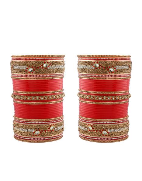 Exclusive Design of Wedding chura, Punjabi chur