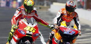 """How Rossi changed opinion on Stoner , """"At Ducati he was incredible"""" 