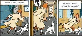 Interview: Susan Rennie on translating Tintin into Scots | Translators Make The World Go Round | Scoop.it