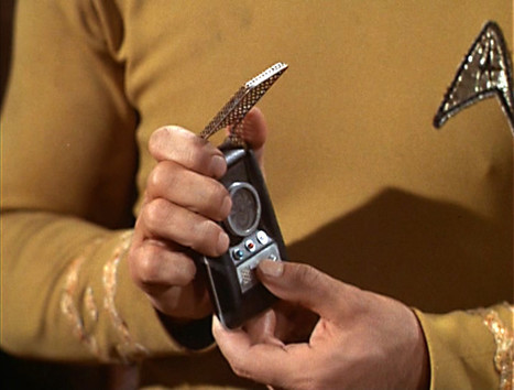Star Trek Communicator released as Bluetooth handset and speaker (OMG!) | Astrobiology | Scoop.it