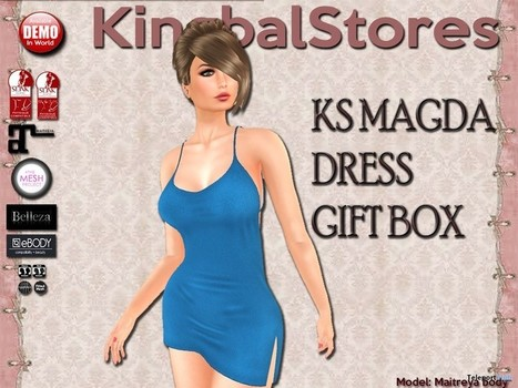 1daa6dd074 Magda Dress Teleport Hub Group Gift by KingbalStores