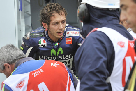 Valentino Rossi OK after the great fear | Ductalk Ducati News | Scoop.it