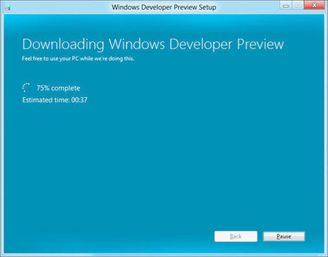 Microsoft streamlining Windows 8 install process, promises setup in just 11 clicks | All Technology Buzz | Scoop.it