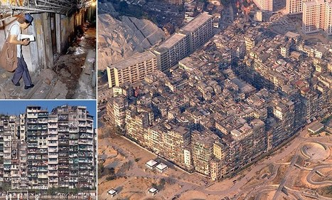 Kowloon Walled City: A rare insight into one of the most densely populated places on earth which housed 50,000 people | Archivance - Miscellanées | Scoop.it