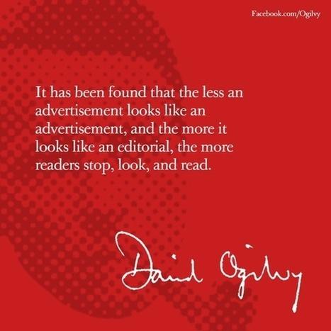 David Ogilvy Quotes   Mark-it!   Scoop.it