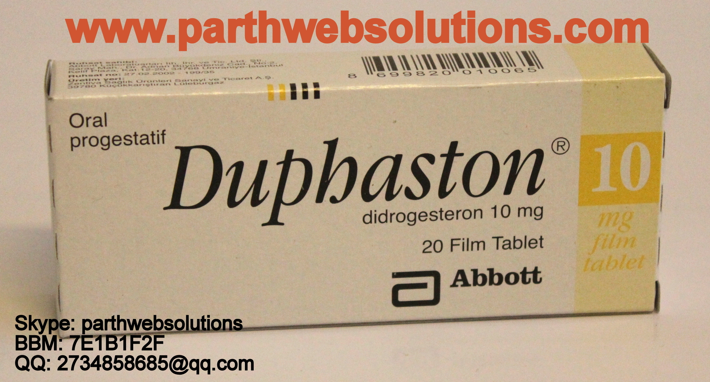 Dydrogesterone Free Shipping