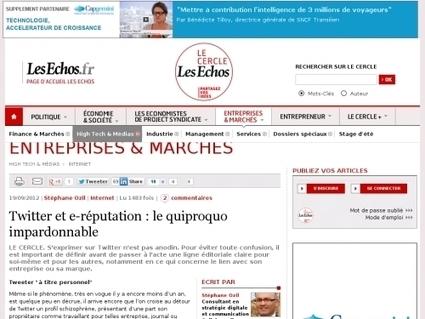 Twitter et e-réputation : le quiproquo impardonnable - Websourcing.fr | Médias & réseaux sociaux | Scoop.it