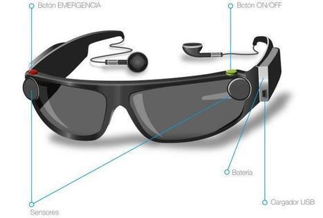 3609bbb6e6ced Las gafas para ciegos que acabarán con el bastón y el perro guía