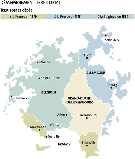 Cartes Historiques Du Luxembourg