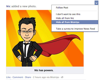 How to block bitstrips from your Facebook timeline   [EN] entertainment & high tech   Scoop.it