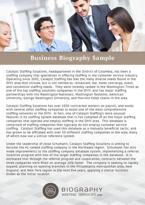 Military Biography Sample Best Biography Samp