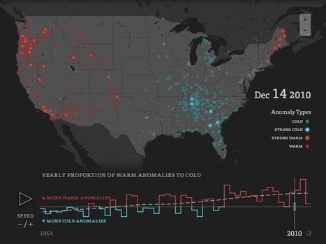 Enigma Labs - Visualizing temperature anomalies 1964-2013 | Data Driven Intelligence | Scoop.it