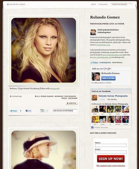 Free Instagram Website Using Tumblr | Lens Diaries™ | Social Media Photography | Scoop.it