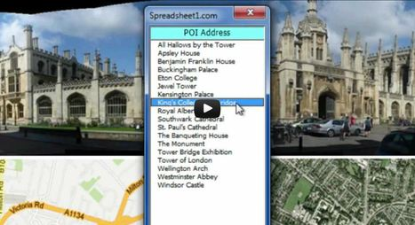Map & Street View API in Excel | Data Management, Data Quality | Scoop.it