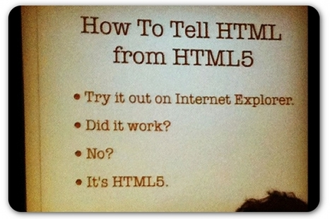 The skill PR pros will need in the future: HTML5 | Lectures web | Scoop.it