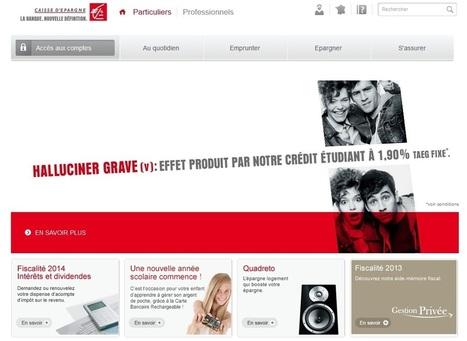 Caisse d'épargne en Ligne : Les services et consultations des comptes | crédit : Divers, humour et vidéos | Scoop.it