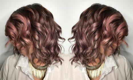 Bloedmooi! Chocolate mauve is de belachelijk mooie haartrend voor brunettes deze herfst - Beautify   kapsel trends   Scoop.it