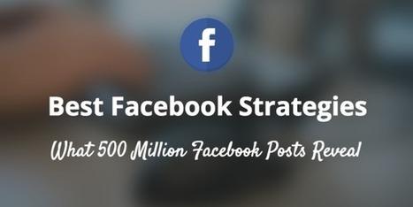 500 millions de posts Facebook analysés : comment optimiser ses publications ? - Blog du Modérateur | Stratégie digitale et e-réputation | Scoop.it