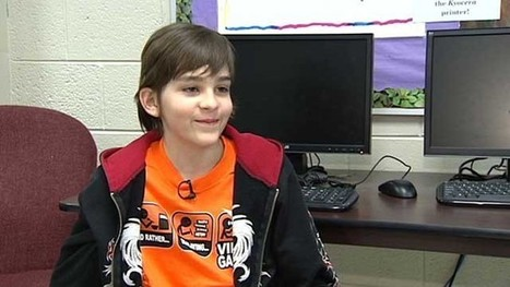 Fifth-grader creates video game, places second in national competition - KSAT San Antonio   Game-based Lifelong Learning   Scoop.it
