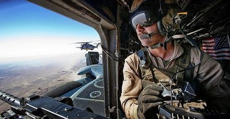 A great view from a US Military UH-60 Black Hawk  on patrol in Afghanistan   Technology in Business Today   Scoop.it