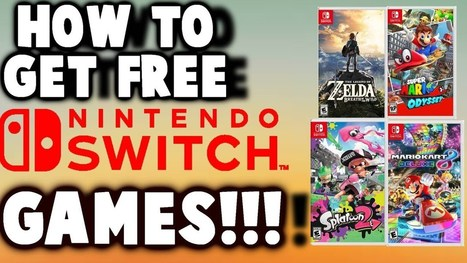 how to get free nintendo switch games hack