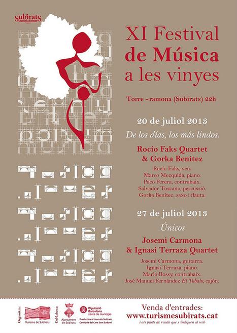 Festival de Música a les Vinyes   Actualitat Jazz   Scoop.it