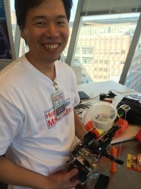 3D printing e-NABLE hands at the Hong Kong Mini Maker Faire   3D Virtual-Real Worlds: Ed Tech   Scoop.it