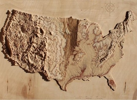 Stunning 3D Topographic Maps of Any Place on Earth | K-12 Web Resources - History & Social Studies | Scoop.it