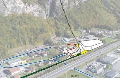Le Funiflaine : les travaux de l'ascenseur valléen sont prévus pour 2021