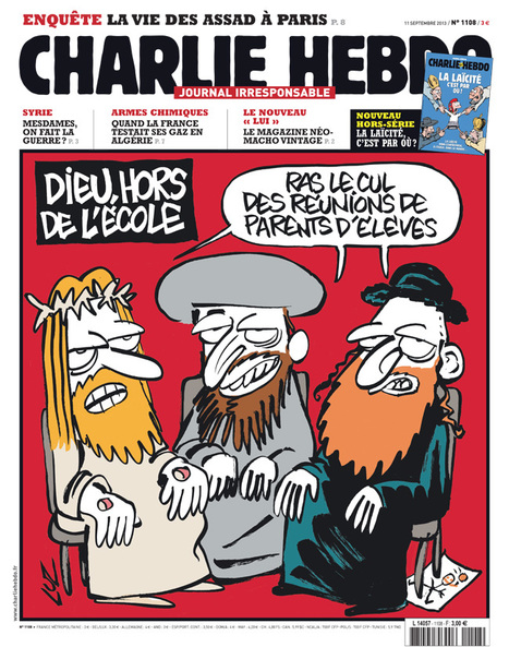 La Une de la semaine du 11 septembre 2013   Charlie Hebdo e4bb7adaefe