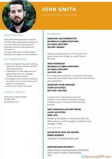 Updated Resume Template 2019 Resume 2019 Samp