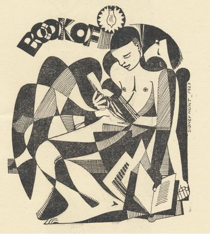Ex libris | Sidney Hunt 1923 | offene Ablage: nothing to hide | manually by oAnth - from its scoop.it contacts | Scoop.it