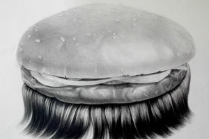 Juxtapoz Magazine - Hong Chun Zhang's Hairy Objects | Illustration | Art World. | Scoop.it