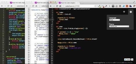 My first Node.js app: CodeShare.io | node web programming | Scoop.it