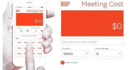 Le meeting cost calculator chiffre le coût d'une réunion | L'Atelier : Accelerating Business | JP revues | Scoop.it