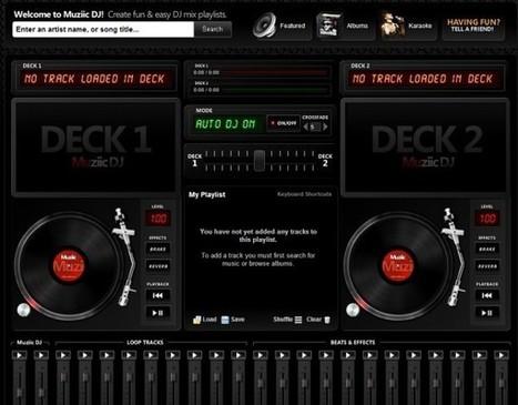3 aplicaciones para mezclar música desde el navegador | Psicología desde otra onda | Scoop.it