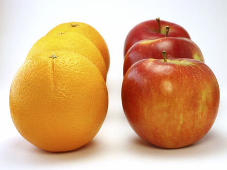 Apples Vs. Oranges: Google Tool Offers Ultimate Nutrition Smackdown | botany | Scoop.it