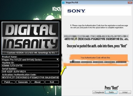 sony vegas pro 10 keygen digital insanity download