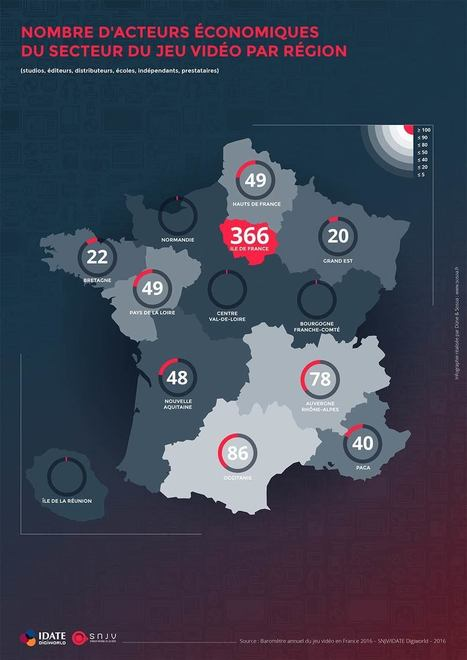 Baromètre 2016 du Jeu Vidéo en France | jeux vidéos Bordeaux | Scoop.it