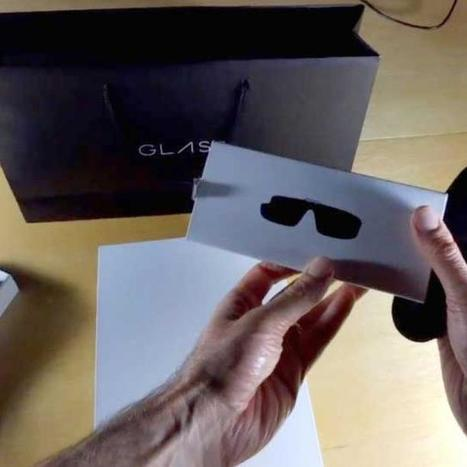 Google Glass Records Google Glass 'Unboxing' [VIDEO] | All Technology Buzz | Scoop.it