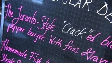 Regina eatery offers 'crack'ed pepper burger to mock Toronto's Rob Ford | Media Relations Articles: Rob Ford | Scoop.it