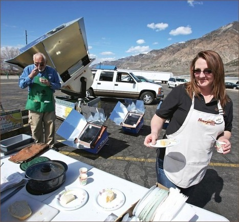 Let the sun do all the work; solar cooking gets glowing reviews | Innovative Woman | Scoop.it