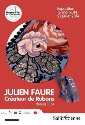 """Exposition """"Julien Faure, créateur de rubans depuis 1864""""   Musée d'Art et d'Industrie de Saint-Etienne   Textile Horizons   Scoop.it"""