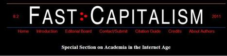 The (Coming) Social Media Revolution in the Academy - Daniels and Feagin - Fast Capitalism 8.2   Social media & academia   Scoop.it