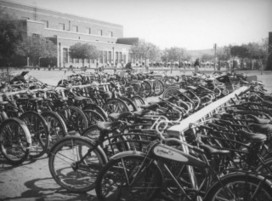 Picture Sundays: A High School Bike Rack in Los Angeles Circa ... | Bike Parking | Scoop.it